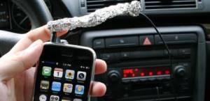 iPhonewithaluminumfoil