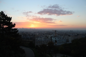 Sunrise at Montmartre